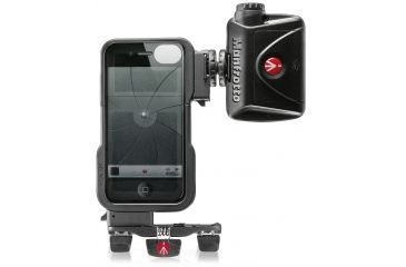 Manfrotto KLYP case for iPhone4-4S with ML240 LED light and Pocket tripod MKPLKLYP0