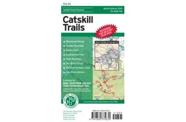 Map Catskill, Ny/njtc, Publisher - Ny/nj Trail Confrnce