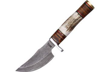 Marbles Damascus Skinner Knife, 9.25in. MR814D
