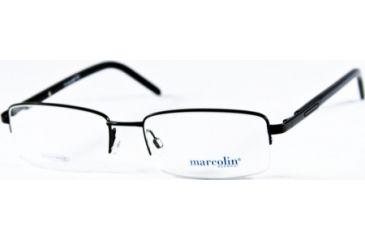 Marcolin MA6801 Eyeglass Frames - Matte Black Frame Color