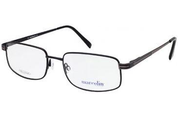Marcolin MA6803 Eyeglass Frames - Matte Black Frame Color