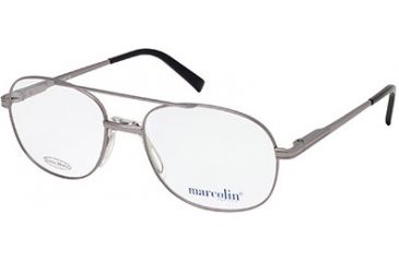 Marcolin MA6804 Eyeglass Frames - Shiny Gun Metal Frame Color