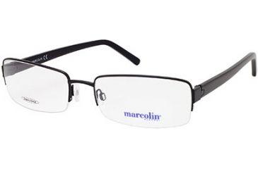Marcolin MA6807 Eyeglass Frames - Matte Black Frame Color