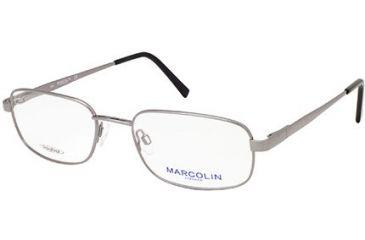 Marcolin MA6810 Eyeglass Frames - Shiny Gun Metal Frame Color