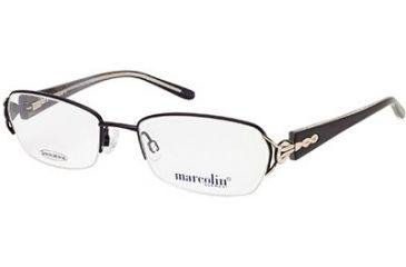 Marcolin MA7299 Eyeglass Frames - Matte Black Frame Color