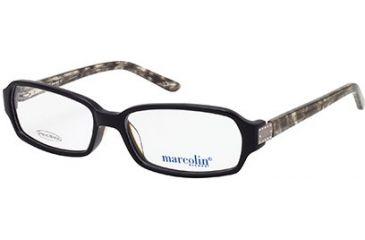 Marcolin MA7300 Eyeglass Frames - Shiny Black Frame Color