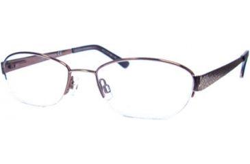 Marcolin MA7302 Eyeglass Frames - Shiny Light Brown Frame Color