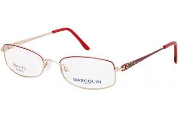 Marcolin MA7306 Eyeglass Frames - Bordeaux Frame Color