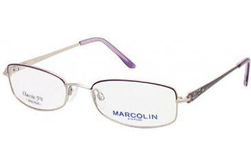 Marcolin MA7306 Eyeglass Frames - Violet Frame Color