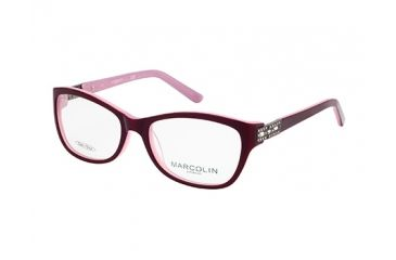 Marcolin MA7319 Eyeglass Frames - Violet Frame Color