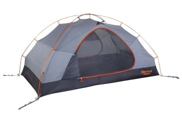 Marmot Fortress 2P Tent Tangelo/Grey Storm One Size 39480-9945-  sc 1 st  Optics Planet & Marmot Fortress 2P Tent | New Product w/ Free Shipping and Handling