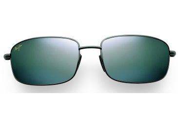 Maui Jim Harbor Sunglasses - Gunmetal Frame, Neutral Grey Lenses - 206-02