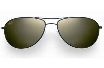 Maui Jim Baby Beach Sunglasses - Gloss Black Frame, Maui HT Lenses - HTS245-02