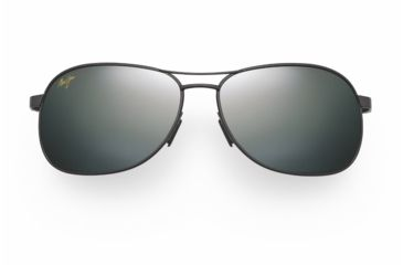 Maui Jim Akoni Sunglasses - Gunmetal Frame, Neutral Grey Lenses - 117-02