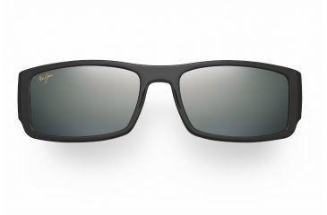 Maui Jim Akamai Sunglasses - Gloss Black Frame, Neutral Grey Lenses - 212-02