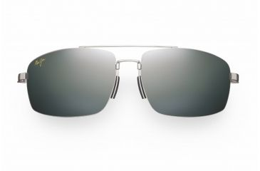 Maui Jim Sandalwood Sunglasses - Silver Frame, Neutral Grey Lenses - 217-17