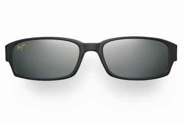 Maui Jim Atoll Sunglasses - Gloss Black Frame, Neutral Grey Lenses - 220-02