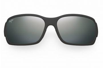 Maui Jim Hamoa Beach Sunglasses - Matte Black Rubber Frame, Neutral Grey Lenses - 226-2M