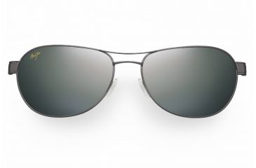 Maui Jim Mahina Sunglasses - Gunmetal Frame, Neutral Grey Lenses - 229-02