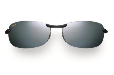 Maui Jim Makaha Sunglasses - Gloss Black Frame, Neutral Grey Lenses - 405-02