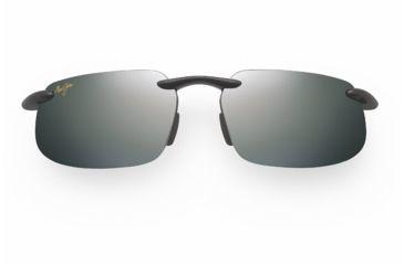 Maui Jim Kanaha Sunglasses - Gloss Black Frame, Neutral Grey Lenses - 409-02