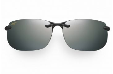 Maui Jim Banyans Sunglasses - Gloss Black Frame, Neutral Grey Lenses - 412-02