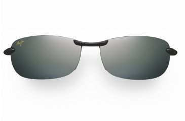 Maui Jim Makaha Reader Sunglasses - Gloss Black Frame, Neutral Grey Lenses