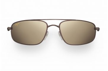 Maui Jim Kahuna Sunglasses - Metallic Gloss Copper Frame, HCL Bronze Lenses - H162-23