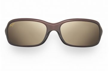Maui Jim Lagoon Sunglasses - Dark Brown Frame, HCL Bronze Lenses - H189-26
