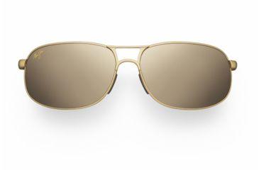 Maui Jim Bayfront Sunglasses - Gold Satin Frame, HCL Bronze Lenses - H205-16