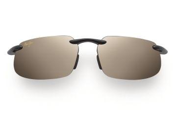 Maui Jim Kanaha Sunglasses - Gloss Black Frame, HCL Bronze Lenses - H409-02