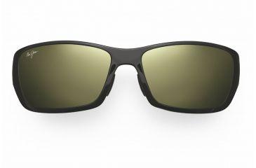 Maui Jim Canoes Sunglasses - Gloss Black Frame, Neutral Grey Lenses - 208-02