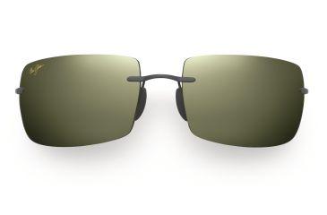 Maui Jim Thousand Peaks Sunglasses - Gloss Black Frame, Maui HT Lenses - HT517-02