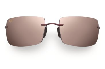 Maui Jim Thousand Peaks Sunglasses - Burgundy Frame, Maui Rose Lenses - R517-07