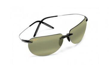Maui Jim Ht527 11 Nakalele Grey And Gunmetal Frame High Transmission Lens Sunglasses