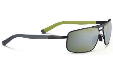 Maui Jim Keanu Sunglasses, Matte Black/Green, Maui HT Lenses, Matte Black/Green HT271-2M