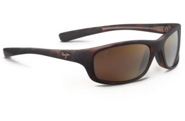 Maui Jim Kipahulu Sunglasses - Matte Tortoise Rubber Frame and HCL Bronze Polarized Lens H279-10MR