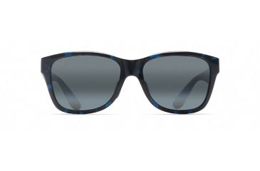 a10b509d2287 Maui Jim Road Trip Polarized Rectangular Sunglasses,Blue / Black  Tortoise,Neutral Grey Lens