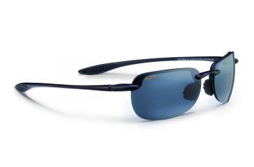 4bd879bf0259 Maui Jim Sandy Beach Sunglasses,Universal Fit - Gloss Black Frame,Polarized  Neutral Grey