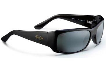 4ff30cf1430 Maui Jim Third Bay Sunglasses, Black Gold, Grey Lenses, Black Gold 268-