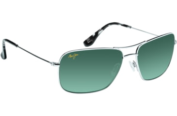 Maui Jim Wiki Wiki Sunglasses w/ Silver Frame and Neutral Grey Lenses - GS246-17