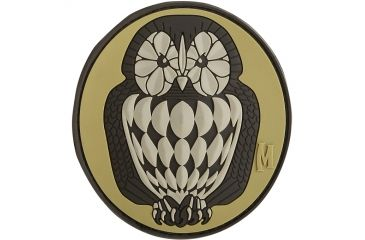 Maxpedition Owl Patch, Arid, 3in x 2.75in OWL3A