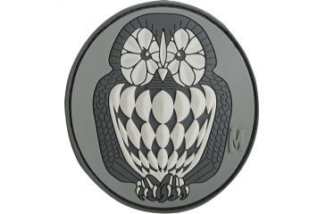 Maxpedition Owl Patch, SWAT, 3in x 2.75in OWL3S