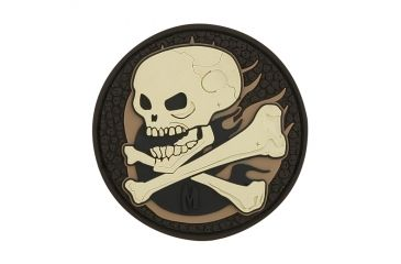 Maxpedition Skull Patch, Arid, 2.5in x 2.5in SKULA