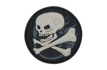 Maxpedition Skull Patch, SWAT, 2.5in x 2.5in SKULS
