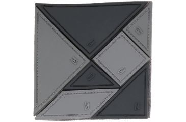 Maxpedition Tangram 7-Piece Patch, SWAT, 3in x 3in TANGS