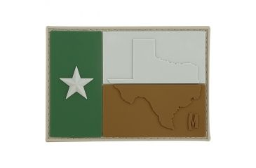Maxpedition Texas Flag Patch, Arid, 3in x 2.1in TEXFA