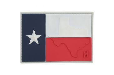 Maxpedition Texas Flag Patch, Full Color, 3in x 2.1in TEXFC