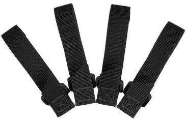 Maxpedition 3-inch Tactie (Pack Of 4) - Black 9903B