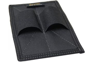 1-Maxpedition Dual Mag Pouch Insert - Black 3503B
